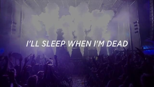ドキュメンタリー映画 I'll sleep when I'm dead タイトル