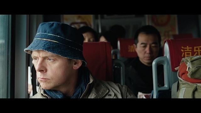 バスで山へ向かうヘクター