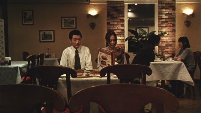 レストランに取り残された宮田と真紀