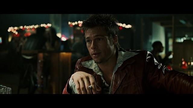 映画・ファイトクラブでタイラーを演じるブラッド・ピット