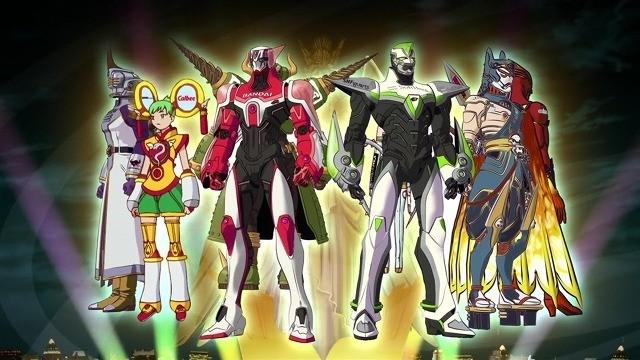 タイガーアンドバニーに登場するヒーローたち