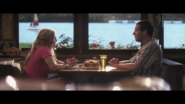 ダイナーに座るルーシーとヘンリー