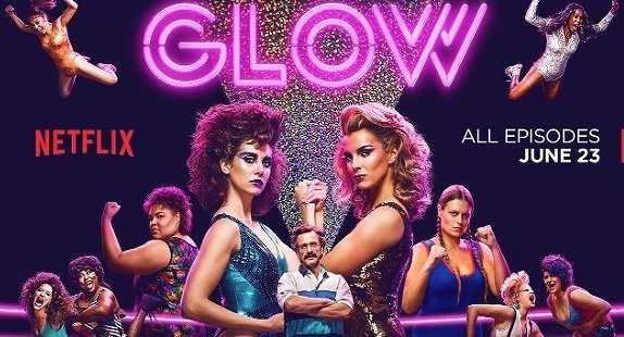 Netflixオリジナルシリーズおすすめランキング GLOW タイトル