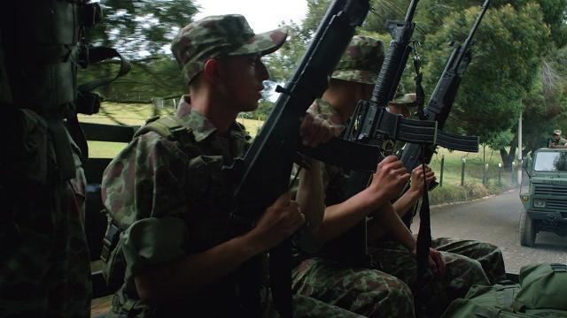 ナルコス-コロンビア軍