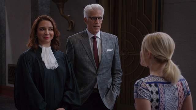 グッドプレイス-判事とマイケル