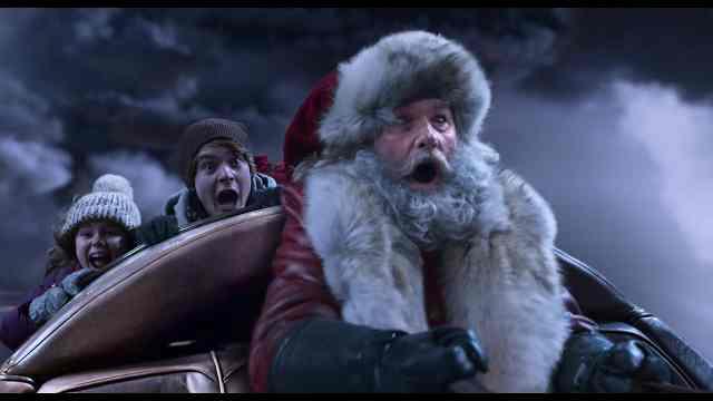 クリスマスクロニクル 橇の上サンタ、ケイト、テディ